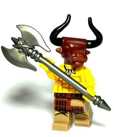 Minotaur Custom Lego Weapons
