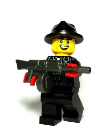 Gangsters Custom Lego Guns