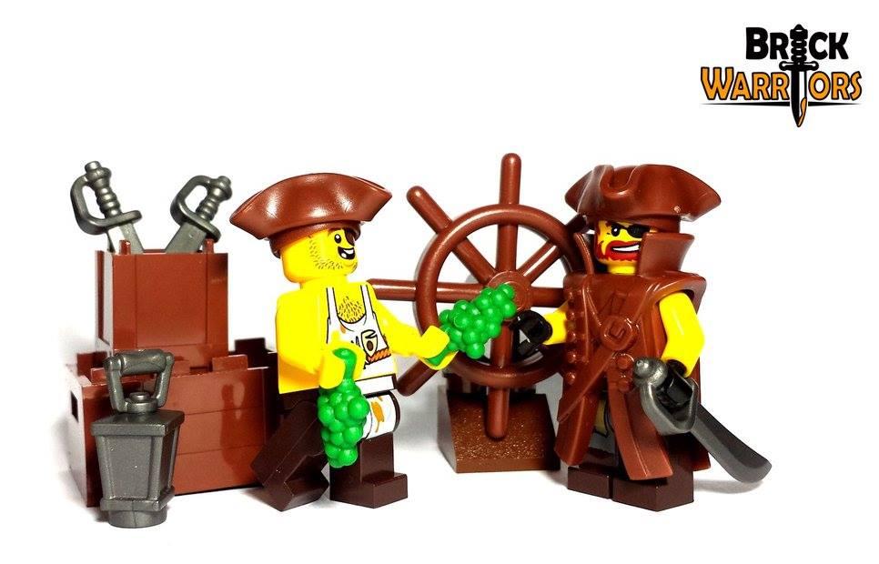 new custom lego pirate coate - Lego Pirate