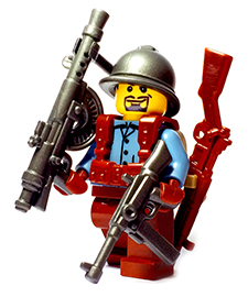 France WW2 Custom Lego Guns