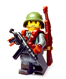 Italy WW2 Custom Lego Guns