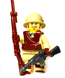 Japan WW2 Custom Lego Guns