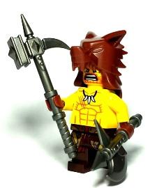Barbarian Custom Lego Weapons