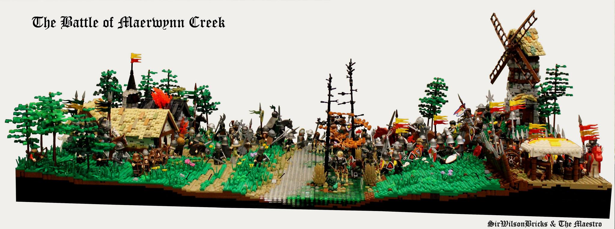 LEGO MOC of the Week - The Battle of Maerwynn Creek by The Masetro