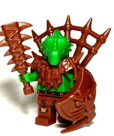 Lizardman Custom Lego Weapons