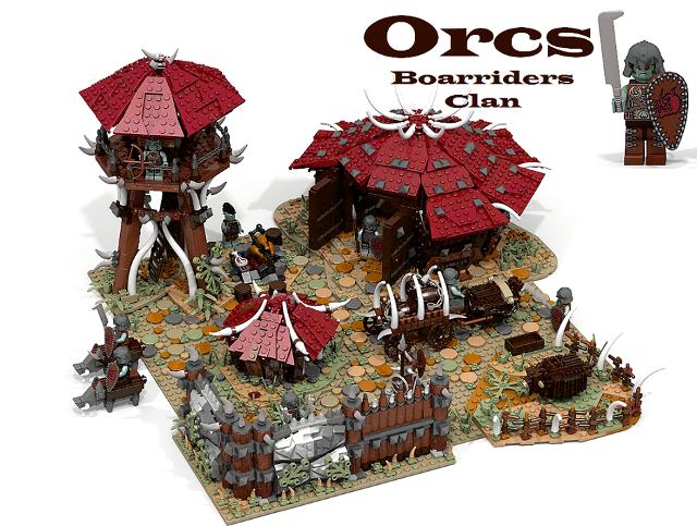 BrickWarriors Guest Blog - LEGO MOCs by James of Brick Pals