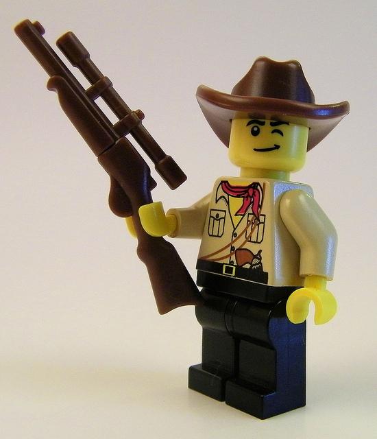 Custom LEGO Accessory Spotlight - Cowboy Hat - BrickWarriors 291439be633