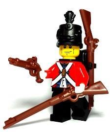 Redcoats Custom Lego Weapons