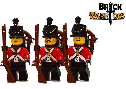 Custom LEGO Helmet Spotlight - British Shako - BrickWarriors