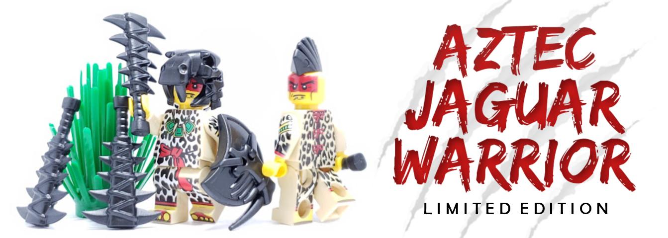 Get The New Limited Edition Aztec Jaguar Warrior Brickwarriors