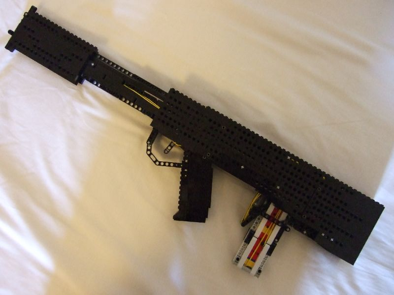 Lego Gun Of The Week Bullpup Pump Action Rifle By Jack