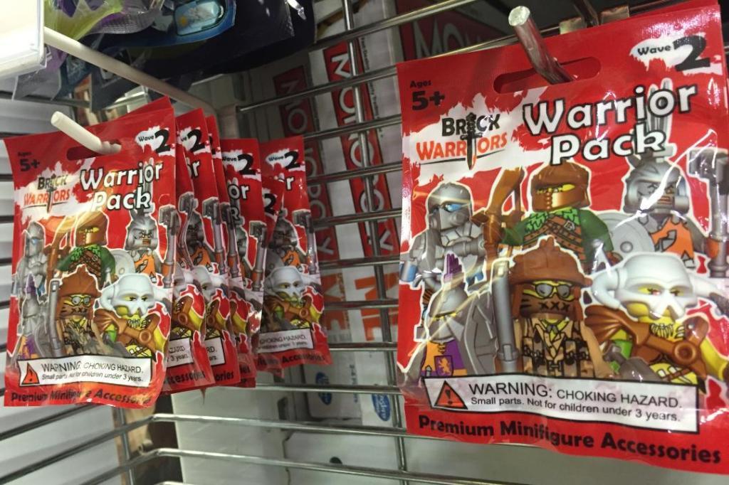 Warrior Packs in TRU