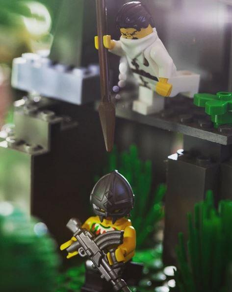 Custom LEGO Gun of the Week - Scorpion EVO A3 Carbine by Legogun ...