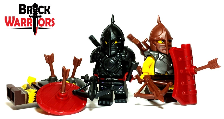 Custom Lego Weapon Of The Week Crossbow Brickwarriors