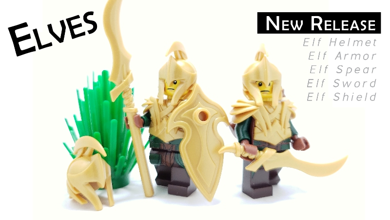 new custom lego elven accessories