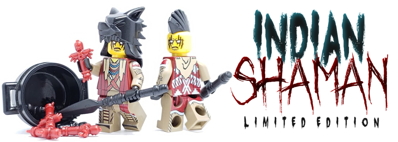 Get the New Limited Edition Indian Shaman Minifigure