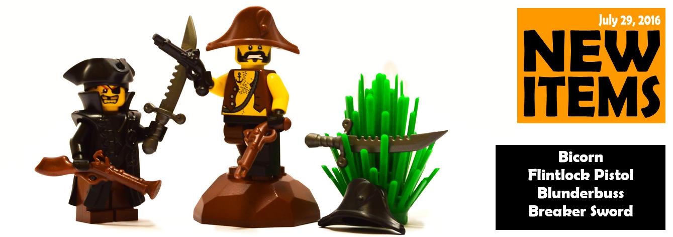 new custom lego pirate accessories released - Lego Pirate