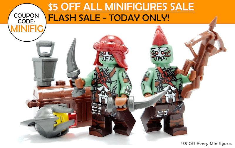 5 Off All Custom Lego Minifigs Flash Sale Today Only Limited