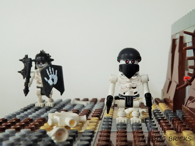 Custom LEGO Minifigure of the Week - Skeleton Goblin & Assassin by ...