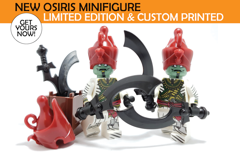 NEW Release! Get the New Limited Edition Osiris Minifig! - BrickWarriors