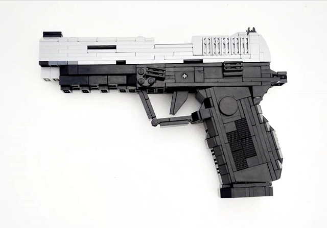 LEGO Gun of the Week - SIG Sauer P320 X-VTAC by acyproduction ...