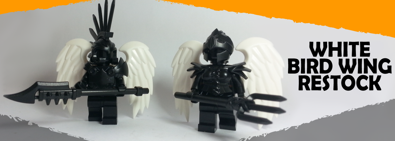 LEGO, Custom LEGO, LEGO Wings, Bird Wings